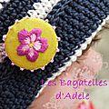 Badge fleuri - Juillet 2013