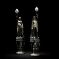 Two by two: Pairs of figural sculptures lead Bonhams Fine European Furniture Sale