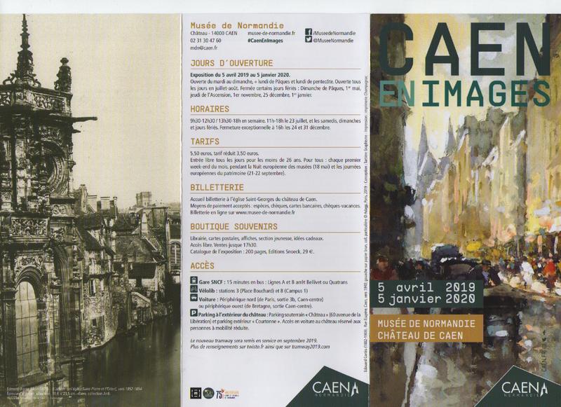CAEN EN IMAGES: une exposition exceptionnelle sur cette belle ville de Caen qui n'existe plus!