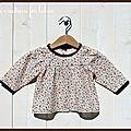 [vêtement] blouse en coton