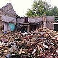 destruction maison sécherie