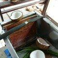 Fabrication de bonbon a la noix de coco, Ben Tre