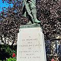 Le monument aux <b>morts</b> du canton de Bourbon-Lancy