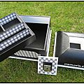 boîte mansard noire et blanche 5