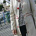 Défi : une veste pavot pour le printemps #4 : the end :-)