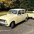 La renault 4 + remorque (1968-1974)(retrorencard novembre 2011)