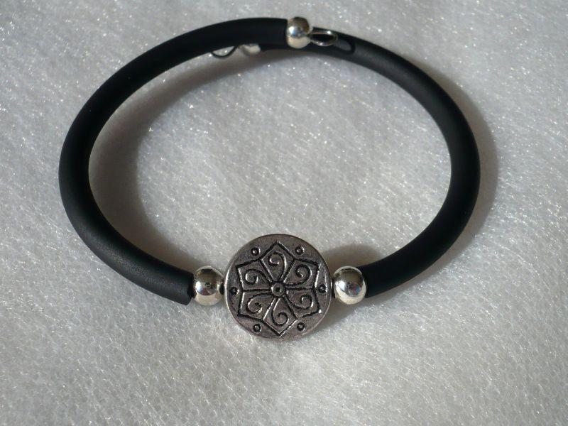 bracelet celtique noir
