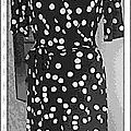 robe vintage vogue jersey