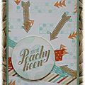 Carte - You're Peachy Keen