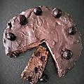 Bettelmann ou Mendiant aux Cerises <b>Noires</b>, Pommes et <b>Chocolat</b>...