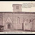 SAINT-PAUL-EN- PAREDS (85) - <b>1833</b> - ENVAHISSEMENT D'UNE ÉGLISE PAR LA FORCE ARMÉE