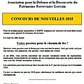Concours 2015 adpfl