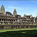 Angkor wat, pre rup et ta phrom.