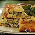 Cake à la fourme d'ambert et courgettes.....une idée pour l'été.....
