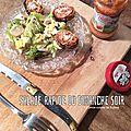 Salade rapide du dimanche soir