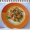 Crevettes et riz façon risotto