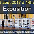 Samedi 12 août 2017: exposition et conférence au musée de la résistance et de la déportation de frugières le pin (43230)