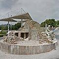 Rond-point à Platja d'<b>Aro</b> (Espagne)
