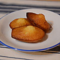 Les madeleines au miel de Cyril Lignac