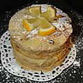 Gateau de crepes au citron