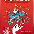 L'affiche du 26e festival au village