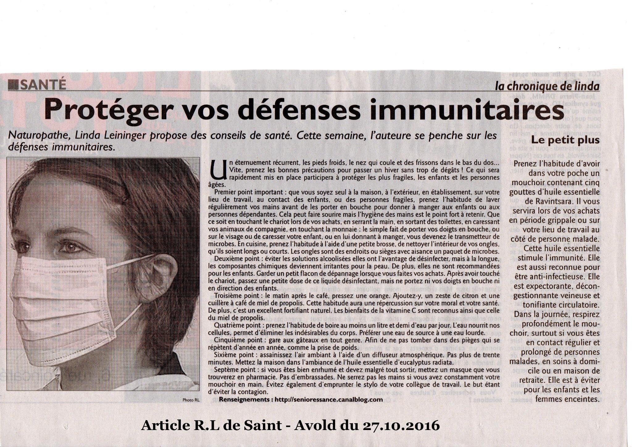 Protéger vos défenses immunitaires
