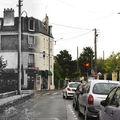 La rue Albert Alline au Plessis-Bouchard...hier et aujourd'hui