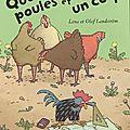 Quatre poules et un coq – lena et olof landström
