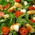 Quenelles en salade