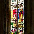 Église de brou : une visite consacrée aux vitraux
