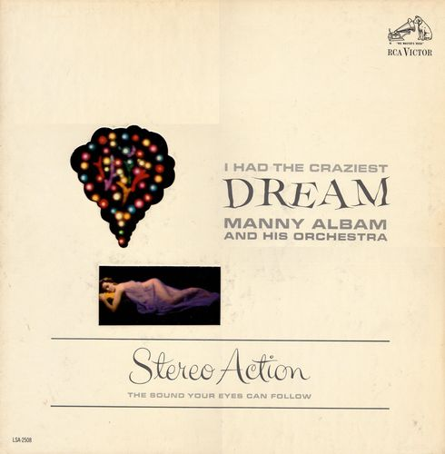 Manny Albam and His Orchestra - 1962 - I Had the Craziest Dream (RCA Victor)