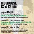 Les 12 et 13 juin bienvenue welkoma palestine à mulhouse