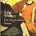 Les new-yorkaises - edith wharton