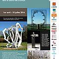 La galerie le hangar et julie borel organise un parcours de sculptures dans la ville d'evreux au printemps 2016