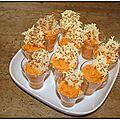 Mousse fraicheur de carottes