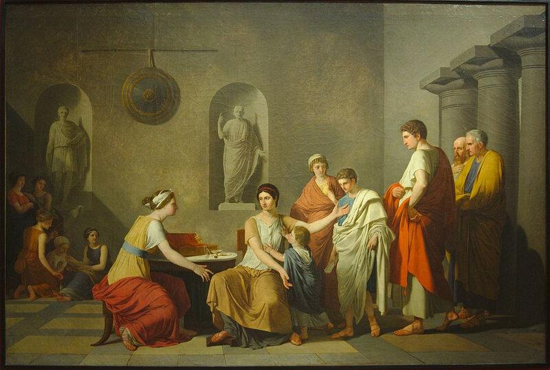 1797 - Cornélie, mère des Gracques