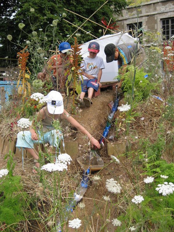 Projet auxerre 2008 jardin de bouteille