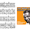Mona Lisa - Nat <b>King</b> Cole (Partition - Sheet-Music)