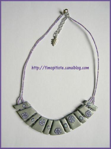 Bijoux pate fimo collier bracelet boucles d oreilles (143)