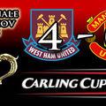 <b>West</b> <b>Ham</b> 4 - 0 Man Utd (Carling Cup)