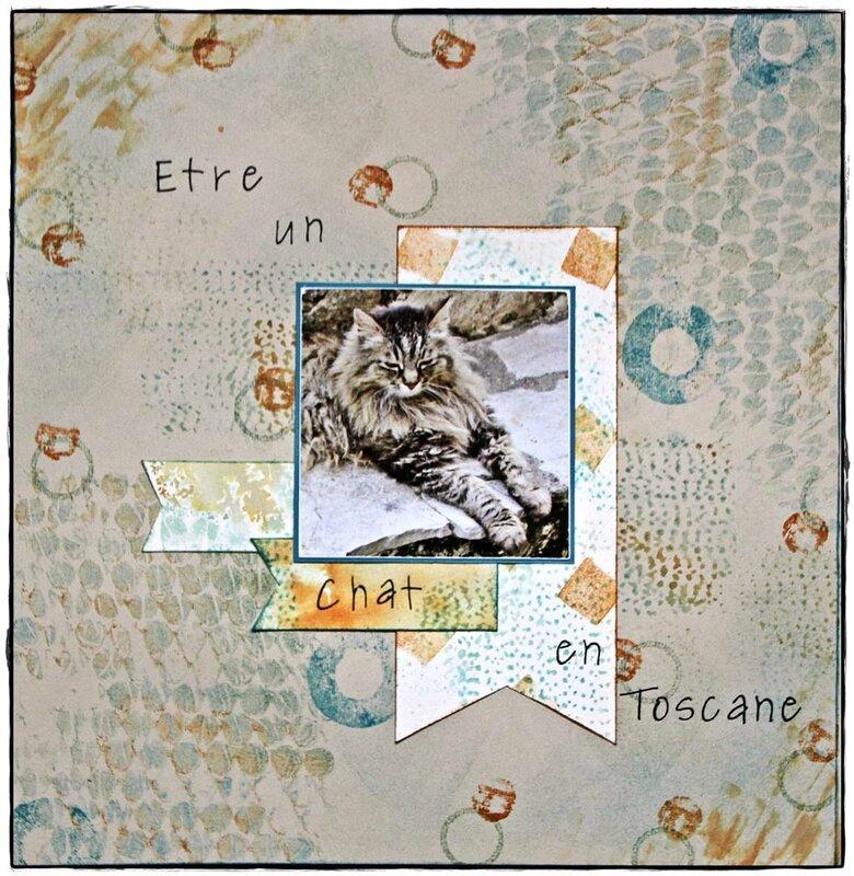 Etre un chat en Toscane