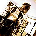 1484 Dimanche au festival label guitare en noir et blanc