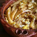 Frites en tajine, ou comment recycler des frites à la marocaine