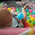 Atelier <b>motricité</b> du jour : La piscine à balles