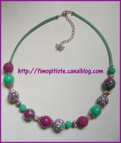 collier bijoux bracelet pate fimo (128)