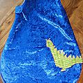 turbulette hiver chevalier et dragon, knight and dragon winter sleeping bag (3)