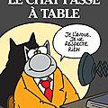 Le chat passe à table : régalons nous avec <b>Geluck</b>!!