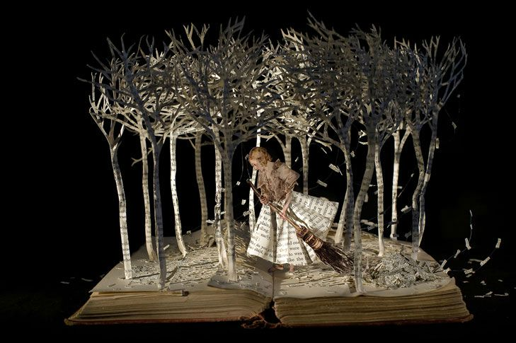 Su Blackwell - The-girl-in-the-wood