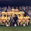 EFFECTIF DE L'USO 1988-89 (archives Philippe GATOUX)