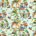 Cow boys wrapping paper.